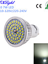 YouOKLight 600 lm GU10 LED Spotlight A50 48 leds SMD 2835 Decorative Cold White AC 110-130V AC 220-240V