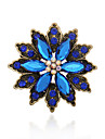 Women\'s Brooches - Gemstone, Rhinestone Vintage, European, Fashion Brooch Coffee / Green / Blue For Wedding / Party / Special Occasion