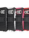 Etui Käyttötarkoitus Samsung Galaxy Samsung Galaxy S7 Edge Iskunkestävä / Koristeltu Takakuori Panssari PC varten S8 Plus / S8 / S7 edge