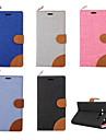 Кейс для Назначение SSamsung Galaxy Кейс для  Samsung Galaxy Бумажник для карт / со стендом / Флип Чехол Однотонный Кожа PU для On 7 / On 5 / Grand Prime
