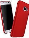 Capinha Para Samsung Galaxy Samsung Galaxy S7 Edge Estampada Capa traseira Cor Solida PC para S7 edge S7