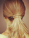 Alloy Hair Clip,Simple Casual Silver Golden