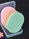 4 штук Ватные диски для снятия макияжа Природные губки Круглая руки Ножки Лицо Корпус шея
