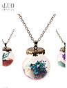 Ожерелье Ожерелья с подвесками Бижутерия Повседневные Модно / Регулируется Сплав Прозрачный 1шт Подарок