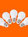 E26/E27 Ampoules Globe LED G60 9 SMD 3528 240 lm Blanc Chaud Blanc Froid Décorative AC 100-240 V 5 pièces
