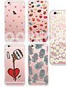 제품 iPhone X iPhone 8 아이폰5케이스 케이스 커버 투명 패턴 뒷면 커버 케이스 카툰 소프트 TPU 용 iPhone X iPhone 8  Plus iPhone 8 아이폰 7 플러스 아이폰 (7) iPhone SE/5s iPhone 5