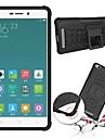 Для Кейс для Mi Защита от удара / со стендом Кейс для Задняя крышка Кейс для Армированный Твердый PC Xiaomi