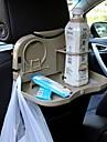 carro ziqiao assento dobravel volta encosto de cabeca titular titular telefone / jantar viagens bandeja de bebidas multi-funcional
