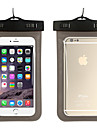 Huelle Fuer iPhone 7 iPhone 6s Plus iPhone 6 Plus iPhone 6s iPhone 6 Universell Wasserfest mit Sichtfenster Handytasche Volltonfarbe Weich