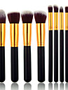 8 stuks Make-up kwasten professioneel Brush Sets Synthetisch haar / Kunstvezel kwast Medium kwast / Kleine kwast