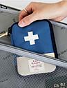 Boite / Etui a Medicaments de Voyage Portable Rangement de Voyage pour Portable Rangement de Voyage Rouge Bleu