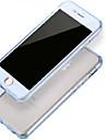 avant + arriere 2 pieces super flexible tpu souple transparent 360 degres entierement tactile couvercle d\'ecran pour iPhone 6 plus /