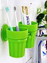 Caneca de Escova de Dentes Privada / Banheira / Ducha Plástico Multi funções / Viagem / Armazenamento