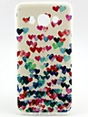 For Samsung Galaxy Case Pattern Case Back Cover Case Heart TPU Samsung J7 / J5 (2016) / J1