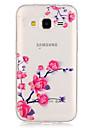 Etui Käyttötarkoitus Samsung Galaxy Samsung Galaxy kotelo Läpinäkyvä Takakuori Kukka TPU varten Grand Prime Core Prime