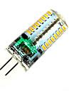 2w g4 led bi-pin lights t 64 smd 3014 150-200lm branco quente branco natural 2800-3200k / 4500-6000k decorativo ac 220-240v