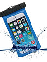 Huelle Fuer iPhone 6s Plus / iPhone 6 Plus / iPhone 6s Wasserfest / mit Sichtfenster Handytasche Solide Weich PC fuer iPhone SE / 5s