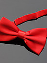 Men\'s Party Basic Polyester Bow Tie - Solid Colored