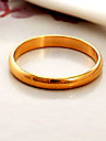 Ring Wedding / Party / Daily / Casual / Sports Jewelry Gold Plated Women Couple Rings / Midi Rings / Band Rings / Statement Rings6 / 7 /
