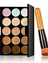 15 Correcteur/Contour Pinceaux de Maquillage Humide Visage Blanchiment Couverture Correcteur Tonalite Inegale de la Peau Naturel