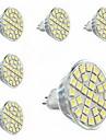 3000-3500 lm GU5.3(MR16) Точечное LED освещение MR16 29 светодиоды SMD 5050 Декоративная Тёплый белый AC 220-240V