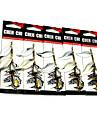5 штук Рыболовная приманка Металлическая наживка Ложки Металл Морское рыболовство Пресноводная рыбалка Другое Обычная рыбалка Ужение на
