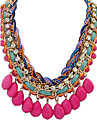Femme Colliers Declaration Collier de perles Perle Alliage Mode Bijoux Fantaisie Le style mignon Europeen bijoux de fantaisie Bijoux Pour