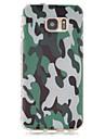 Pour Samsung Galaxy S7 Edge Motif Coque Coque Arriere Coque Camouflage PUT pour Samsung S7 edge S7