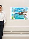 Пейзаж Мода Наклейки 3D наклейки Декоративные наклейки на стены Украшение дома Наклейка на стену Стена