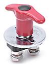 jtron 250a bateria interruptor de corte para o carro / barco / caminhao - prata + rosado (12 / 24v)