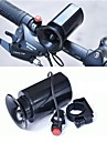 Electric Bike Horn Alarm Recreational Cycling / Cycling / Bike / BMX ABS Black - 1pcs