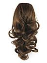 Trekkoord Paardenstaart Elastisch Synthetisch haar Haar stuk Haarextensies Gekruld