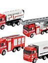 dibang - pożar samochodu zabawki dla dzieci wycofać stopu model samochodu zabawki edukacyjne (4szt)