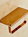 Βάση για χαρτί τουαλέτας Σύγχρονο Ορείχαλκος 1 τμχ - Ξενοδοχείο μπάνιο