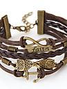 Femme Bracelets d\'amitie Bracelets Vintage Inspiration Multicouches Fait a la main Personnalise Europeen bijoux de fantaisie Alliage