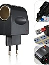 European New Stylish Best Price 220V AC to 12V DC Car  Lighter Wall Power Socket Plug Adapter Converter