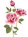 Nature morte Romance Mode Floral Botanique Loisir Stickers muraux Autocollants avion Autocollants muraux decoratifs Autocollants mariage,
