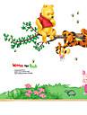 애니멀 / 보태니컬 / 카툰 / 정물화 / 패션 / 플로럴 / 레져 벽 스티커 플레인 월스티커,PVC 70*50*0.1