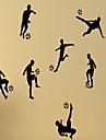 Personnage Nature morte Forme 3D Sports Loisir Stickers muraux Autocollants avion Autocollants muraux decoratifs, Vinyle Decoration