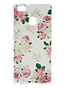 Peony Pattern TPU Soft Case Phone Case for Huawei Series Model