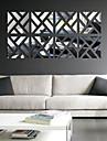 Lazer Wall Stickers Autocolantes de Parede Espelho Autocolantes de Parede Decorativos,PVC Material Removivel Decoracao para casa Decalque