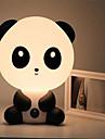 abbastanza carino orso panda animale del fumetto della luce di notte della stanza del bambino camera da letto scrivania lampada della luce
