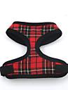 Dog Harness Soft Vest Padded Textile Rose Black/Red Black/Blue