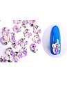 10 pcs תכשיטים לציפורניים חמוד עיצוב ציפורניים פדיקור מניקור יומי מַתַכתִי / פרח / פְּנִינָה / מסמר תכשיטים / מתכת