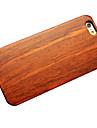 Capinha Para iPhone 6s Plus iPhone 6 Plus iPhone 6s iPhone 6 iPhone 6 iPhone 6 Plus Other Capa traseira Madeira Rígida De madeira para