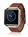 Watch Band for Fitbit Blaze Fitbit Classic Buckle Leather Loop Leather Wrist Strap