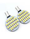 2W G4 Двухштырьковые LED лампы T 24 светодиоды SMD 3528 Декоративная Тёплый белый Холодный белый 200lm 3000/6000K DC 12V