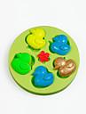Moule de Cuisson Animal Chocolat Tarte Gateau Silicone A Faire Soi-Meme Anniversaire Haute qualite