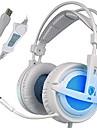 Sades A6 해드폰 (헤드밴드)For미디어 플레이어/태블릿 / 컴퓨터With마이크 포함 / DJ / 볼륨 조절 / FM 라디오 / 게임 / 스포츠 / 소음제거 / Hi-Fi