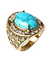 Women\'s Band Ring - Turquoise Fashion Jewelry Red / Green / Blue For Daily Casual 7 / 8 / 9 / 10